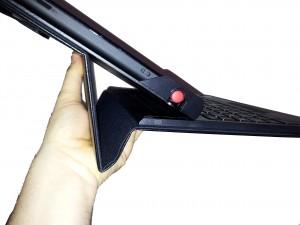 Thinkpad Tablet Folie kann nicht in der Hand gehalten werden