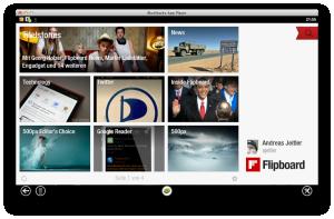 ScreenShot: Flipboard am Mac