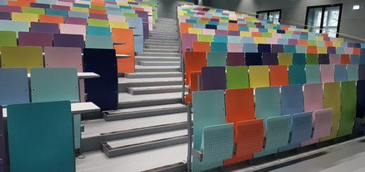 Foto: Hörsaal Bibliothek Uni Graz